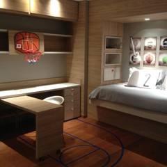 Habitación de niños: Dormitorios infantiles de estilo  por FEF Arquitectas