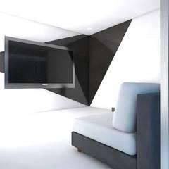 Arquitectura: Salas de entretenimiento de estilo  por Estudio BAM