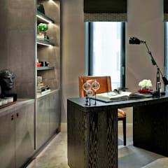 Chelsea Apartment :  Study/office by LINLEY London