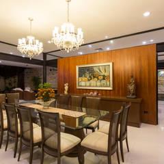 Casa O44: Comedores de estilo  por P11 ARQUITECTOS, Moderno