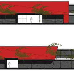 Centro Comercial Galerías y espacios comerciales de estilo minimalista de D&D Arquitectura Minimalista