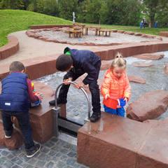Überregionaler Wasser – Erlebnisspielplatz in Contwig (GER):  Ladenflächen von Planungsbüro STEFAN LAPORT