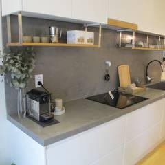 Kitchen by 루트 주택