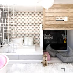 Dom z Antresolą: styl , w kategorii Pokój dziecięcy zaprojektowany przez GENERO,