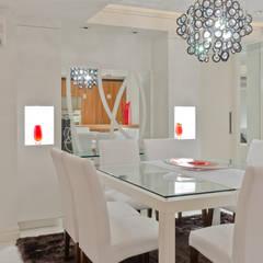 Comedores de estilo  por HB Arquitetos Associados, Moderno Vidrio