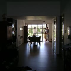 Casa OA: Salas multimedia de estilo  por LG ARQUITECTURA