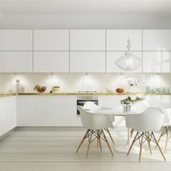Cozinha Cozinhas escandinavas por Maqet Escandinavo