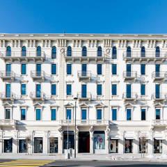 Residenza Grand Palace. Progetto Studio Camponovo architetti & Associati: Centri congressi in stile  di adriano pecchio