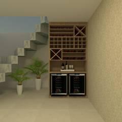 Wine cellar by Beatrice Oliveira - Tricelle Home, Decor e Design,