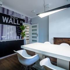 BIURO RACHUNKOWE - Gdańsk: styl , w kategorii Biurowce zaprojektowany przez IDEALNIE Pracownia Projektowa