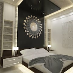 K R Road.: modern Bedroom by single pencil architects & interior designers