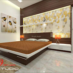 Bedroom designs: modern Bedroom by Desig9x Studio