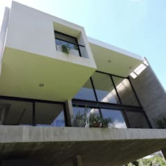 casa DL: Terrazas de estilo  por jose m zamora ARQ