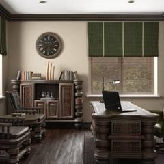 Дом в вьетнамском стиле: Рабочие кабинеты в . Автор – Студия дизайна 'New Art',