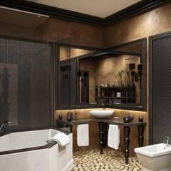 Дом в вьетнамском стиле: Ванные комнаты в . Автор – Студия дизайна 'New Art',