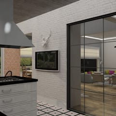 Update İç Mimarlık – Emre & Cansu Evi:  tarz Mutfak