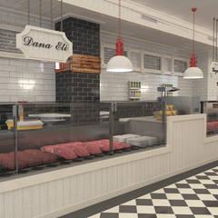 Update İç Mimarlık – Et Keyfi Butcher's Shop:  tarz Dükkânlar