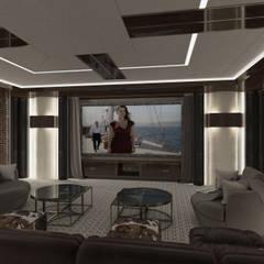 Home Cinema Hall:  Media room by UV Project
