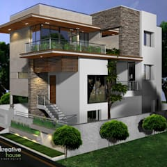 Independent Houses In India: Houses By KREATIVE HOUSE