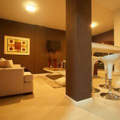 Sala de estar, barra.: Jardines de invierno de estilo  por canica`s