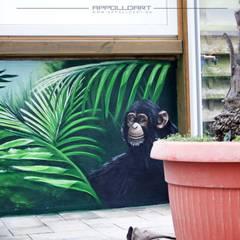 Garage/schuur door  Wandgestaltung Graffiti Airbrush von Appolloart