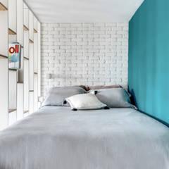 PROJET VOLTAIRE, Agence Transition Interior Design, Architectes: Carla Lopez et Margaux Meza: Chambre de style de style Moderne par Transition Interior Design