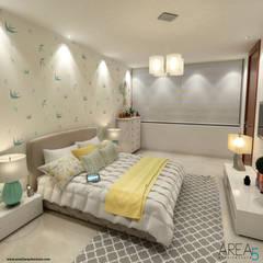 Proyecto de viviendas de lujo - Morano Mare: Habitaciones de estilo  por Area5 arquitectura SAS, Moderno