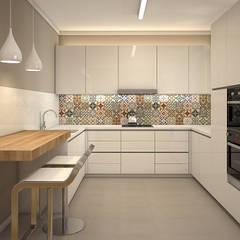 مطبخ تنفيذ Beivide Studio