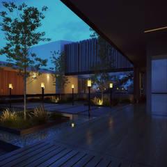 Garden by 21arquitectos, Minimalist