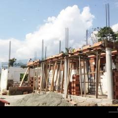 PROYECTO TAMESIS - ANTIOQUIA.: Casas de estilo  por NIVEL SUPERIOR taller de arquitectura