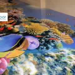 Podłoga 3D w przedszkolu: styl , w kategorii Szkoły zaprojektowany przez FotoFloor