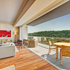Terrace by Lopez Duplan Arquitectos, Modern