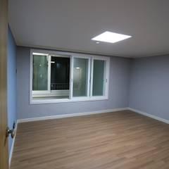 반지대동 그린파크 : 디자인세븐의  침실,인더스트리얼