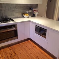 Casa RK: Cocinas de estilo  por AG Arquitectura