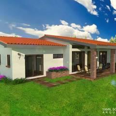 Yamil Sotomayor: Casas de estilo  de YAMIL SOTOMAYOR ARQUITECTO