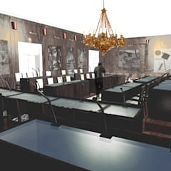 Sala consiliare | Monopoli | Ba | 2012_2013: Centri congressi in stile  di Studio di Architettura Librato