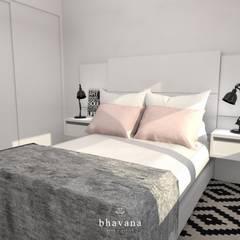 Habitación: Dormitorios de estilo  por Bhavana