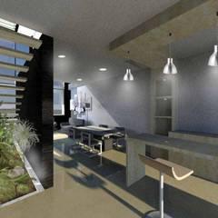 Comedores de estilo moderno de NIVEL SUPERIOR taller de arquitectura Moderno