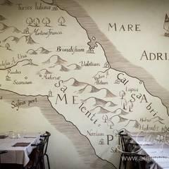 L'antica mappa della Puglia : Negozi & Locali commerciali in stile  di Ghirigori Lab di Arianna Colombo