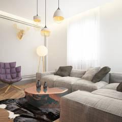 Dmd Design – Oturma odası:  tarz Oturma Odası