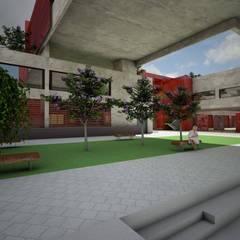 Centro de Memória e Cultura: Centros de exposições  por CONCEITO Arquitetura, Urbanismo e Interiores