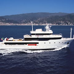 industrial Yachts & jets by Luca Dini Design
