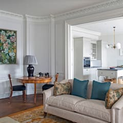 Salones de estilo  de Nash Baker Architects Ltd, Clásico