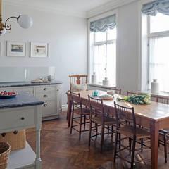 Cocinas de estilo  de Nash Baker Architects Ltd, Clásico