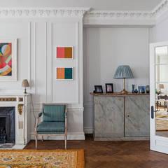 Salones de estilo  de Nash Baker Architects Ltd, Clásico Madera Acabado en madera