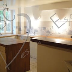 Chambres d'Hôtes: Cuisine de style de style Rustique par ABC Design d'Espace