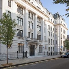 Mansfield Street Apartment, London:  Houses by Nash Baker Architects Ltd, Classic Stone