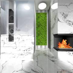 Corridor & hallway by IDEALNIE Pracownia Projektowa, Modern
