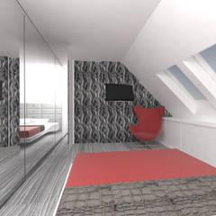 Bedroom by IDEALNIE Pracownia Projektowa, Modern
