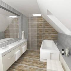 Bathroom by IDEALNIE Pracownia Projektowa, Modern